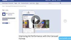 Facebook recently announced the release of carousel link ads