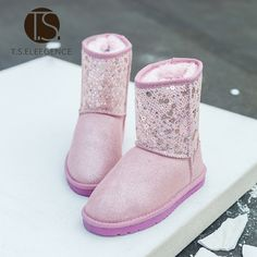 Find More Boots Information about EU28 37 Australia  snow boots size warm winter…