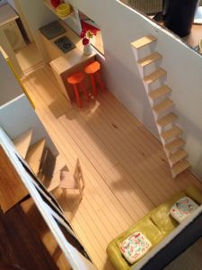 OMG tiny house model!!