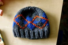 0-3 Months Argyle Hat