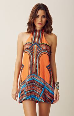 In Love With This Vanji Halter Dress