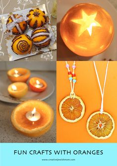 Fun Crafts With Oranges Are Perfect For Winter! Pagan Yule, Fun Crafts, Crafts For Kids, Hebrew School, Call Art, Winter Solstice, Winter Holidays, Hanukkah, Candles