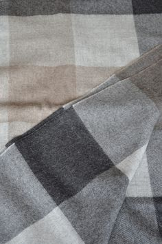 The gorgeous squares throw in silky, soft alpaca - http://www.naturalbedcompany.co.uk/shop/accessories/alpaca-grey-herringbone-throw/