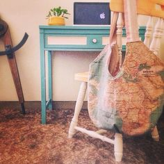 Denim jackets upcycled with annie sloans world map fabric by studio annie sloan world map fabric totebag created by the empty nest and now in its forever gumiabroncs Image collections
