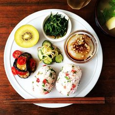 10554083 904744062874885 1509563975 n Easy Cooking, Healthy Cooking, Cooking Recipes, Healthy Recipes, Food Design, B12 Foods, Plate Lunch, Japanese Dishes, Japanese Food