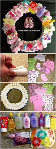 The Ultimate Diaper Wreath Tutorial