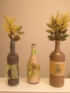 For those empty wine bottles