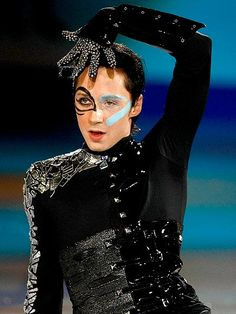 johnny weir, the man has style. Couldn't decide whether to put this on my Sports board or my All That Sparkles board. I'll go with sports. #figure skating