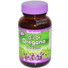 Bluebonnet Nutrition, Oil of Oregano Leaf Extract, 60 Softgels