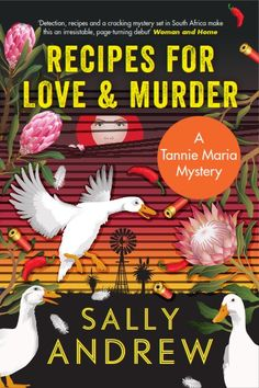 RECIPES FOR LOVE & MURDER by Sally Andrew, UK paperback,Canongate