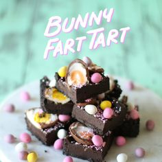 Celebrate Easter the sweet way with an Oreo pastry layered with melted chocolate, sweet crème eggs and candy.