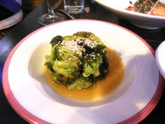 PARK & SIXTH, JERSEY CITY, NJ: burnt broccoli. http://njmonthly.com/blogs/tablehopwithRosie/2013/12/25/restaurant-news-2.html#read_more