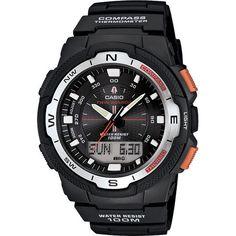 Casio Men's SGW500H-1BV Plastic Quartz Watch with Dial