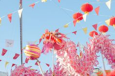 mauritius chinese dragon, mauritius chinatown food festival