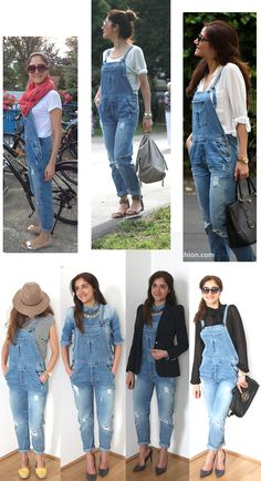 How to wear the overall trend?