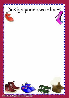 Role play The Shoe shop design your own shoes frame