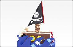 Gráfica e Editora Moura Ramos: livros, revistas, embalagens, sacolas, agendas e impressos em geral.: Dica de final de semana para as crianças - Barco Pirata