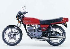 1980 Suzuki RG250E gas tank