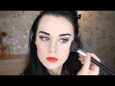 Snow White Makeup Tutorial If Disney Princesses Were Real Disney Princess Makeup, Disney Makeup, Beauty Makeup, Hair Makeup, Makeup Art, Snow White Makeup, Beauty Secrets, Beauty Hacks, Disney Cosplay