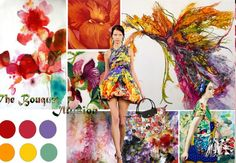 "Mood Board ""The Bouquet Illusion"""