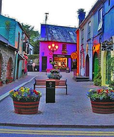 Kinsale, Ireland walked these streets shopping in Kinsale
