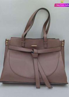 Handbags Online   Buy Handbags for women Discount   i Buy From India Branded Handbags Online, Beautiful Handbags, Dusty Pink, Designer Handbags, Leather Handbags, Women Accessories, India, Tote Bag, Cute Handbags