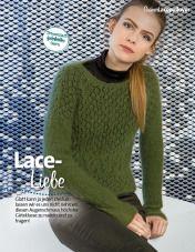Strickanleitung Lacepulli Grün Fantastische Strickideen Lang Yarns 0215