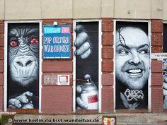 Streetart in Berlin von MTO
