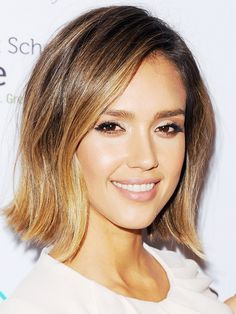 Short hairstyles: Jessica Alba's is one of our favourites and also not too dramatic