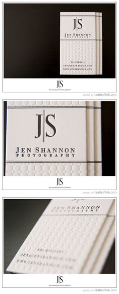 Jen Shannon Cotton Card by Taste of Ink    #letterpress #cotton