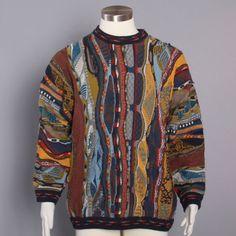 Vintage Coogi cosby biggie sweater