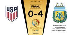 Copa América Centenario (SemiFinales): USA 0 - Argentina 4 | Football Manager All Star
