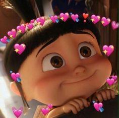 New Memes Apaixonados Wallpaper Ideas Cute Disney Wallpaper, Cute Cartoon Wallpapers, Kpop Wallpapers, Disney Animation, Agnes Despicable Me, Sapo Meme, Memes Lindos, Heart Meme, Cute Love Memes