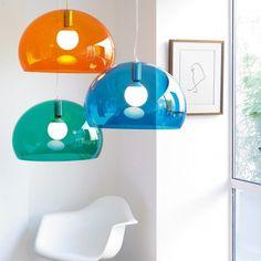 FL/Y hanglamp Kartell oranje | Musthaves verzendt gratis