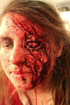 Tortured Student makeup I did at the Dent Schoolhouse this year. Makeup Artist: Alex Burns Prosthetics: Alex Burns and Alecia Littleton Photo: Alex Burns Model: Katie Ludman