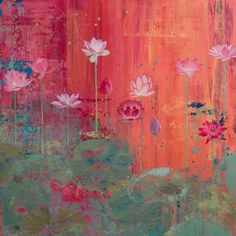 lotus painting - Bing Images by Diana Stetson