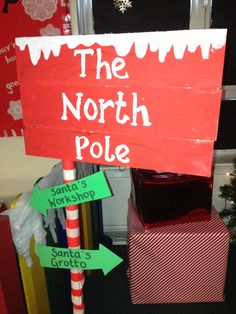 Super cool ideas for Santa's Grotto at your PTA Christmas Fair Christmas Grotto Ideas, Christmas Fayre Ideas, Office Christmas Decorations, Christmas Activities, Christmas Themes, Christmas Makes, Kids Christmas, Outdoor Christmas, Childrens Christmas