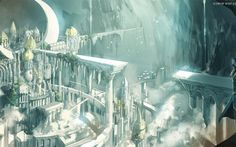 ruin, Fantasy Art, Pixiv Fantasia HD Wallpaper Desktop Background