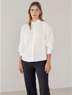 Lang skjorte Blå Woman KappAhl