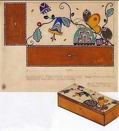 Cajas de galletas de Josef Emanuel Margold para la empresa Bahlsen 1910 - 1918 / Josef Emanuel Margold boxes of cookies for the company Bahlsen 1910 - 1918