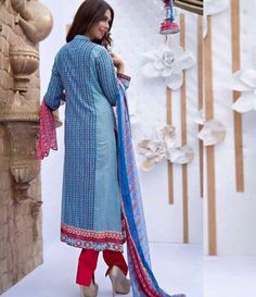 Abeeha By Rana Arts Embroidered Lawn Suits Collection EKR_569
