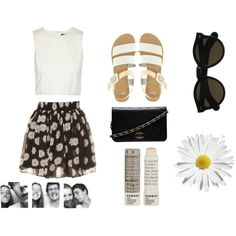 """Daisy"" by chelsealyn on Polyvore"