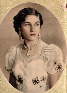 Her Royal Highness Princess Fawzia Fuad sister of King Farouk and the former empress of Iran.