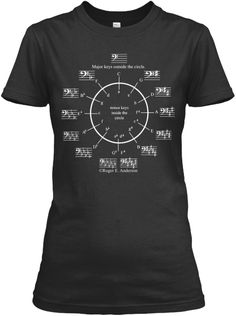 Circle of Fifths (women's t-shirt)