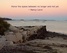 It's ok to not be where you want to be yet. Honor how far you've come. That's how you keep going.  http://www.kindovermatter.com/2015/03/honor-space-between.html