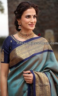 Shilpareddy in Choker and Traditional Jhumkas - Jewellery Designs