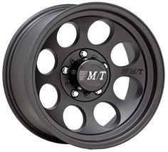 "17"" Mickey Thompson Part 1279413 - Classic II Black Alloy Wheel"