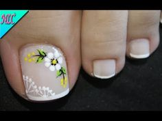 Manicure, Pedicure Nails, Toe Nail Art, Toe Nails, Blue Acrylic Nails, Nail Art Designs, Nail Polish, Make Up, Beauty