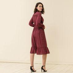 Polka dot maxi dress #mys19