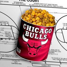 Chicago Bulls Popcorn Tin